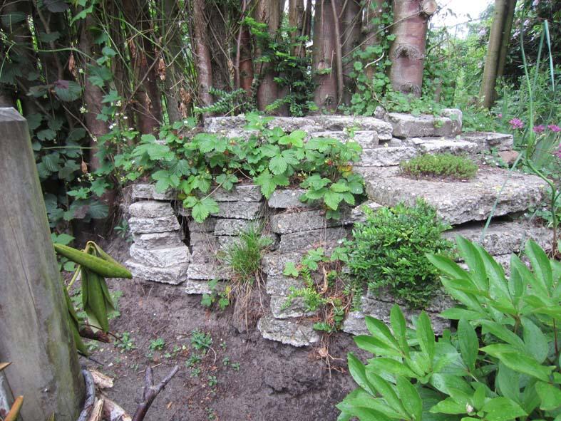 Stenen Voor Muur In Tuin : stenen muur